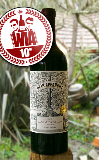 "Grand Napa 2013 ""Heir Apparent"" Napa Valley Reserve Cabernet Sauvignon 750ml Wine Bottle"