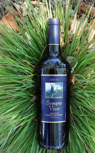 Romeo Vineyards 2012 Sempre Vive Napa Valley Old Vine Cabernet Sauvignon 750ml Wine Bottle