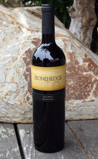"Stonehedge Winery 2003 ""Terroir Select"" Malbec 750ml Wine Bottle"