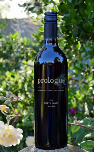 "Anderson's Conn Valley Vineyards 2011 ""Prologue"" North Coast Merlot 750ml Wine Bottle"