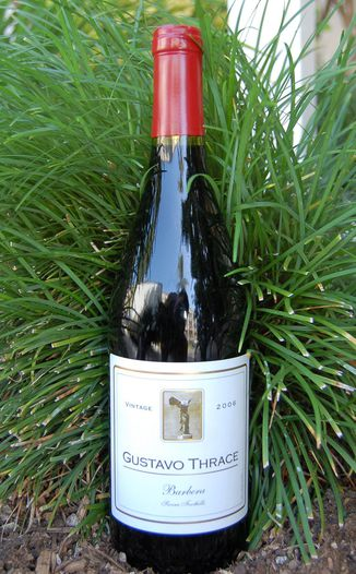 Gustavo Thrace 2006 Sierra Foothills Barbera 750ml Wine Bottle