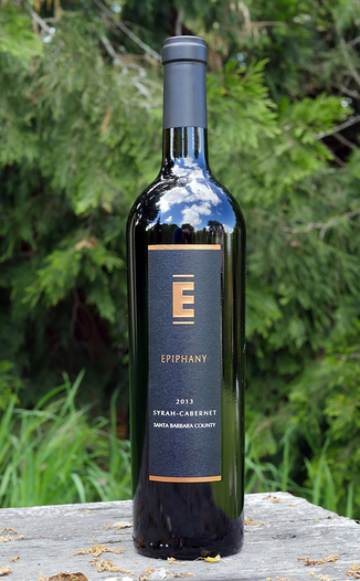 Epiphany Cellars 2013 Camp Four Vineyard Santa Barbara County Syrah-Cabernet 750ml Wine Bottle