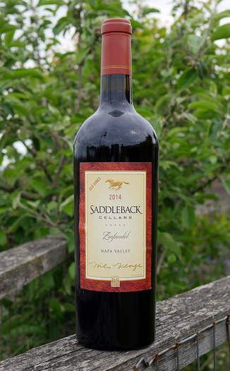 Saddleback Cellars 2014 Napa Valley Old Vine Zinfandel 750ml Wine Bottle