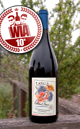 Lang & Reed 2013 North Coast Cabernet Franc 750ml Wine Bottle