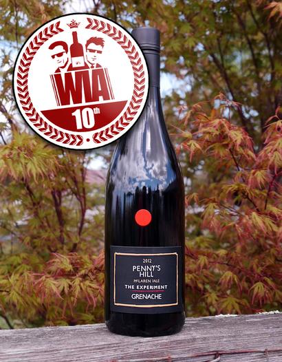"Penny's Hill 2012 ""The Experiment"" McLaren Vale Estate Single Vineyard Grenache 750ml Wine Bottle"