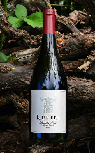Kukeri Wines 2015 Sonoma Coast Pinot Noir 750ml Wine Bottle