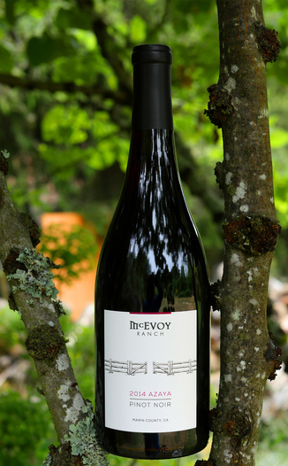 McEvoy Ranch 2014 Azaya Vineyard Pinot Noir 750ml Wine Bottle