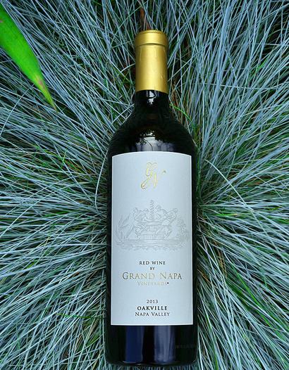 Grand Napa Wine 2013 Oakville Red Wine 750ml Wine Bottle