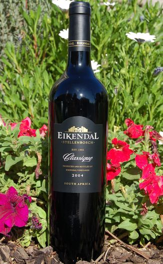 Eikendal Vineyards 2004 Classique - Bordeaux Style Blend 750ml Wine Bottle