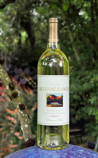 """Beltane Ranch 2014 """"Drummond Block"""" Sonoma Valley Sauvignon Blanc 750ml Wine Bottle"""