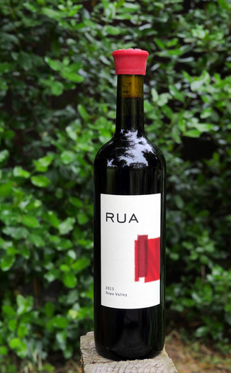 Rua Wines 2013 Napa Valley Red Wine 750ml Wine Bottle