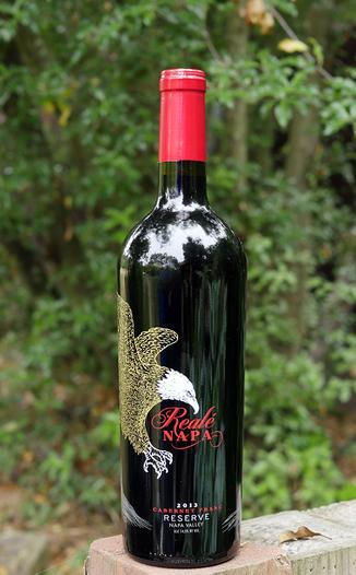 "Grand Napa Wine 2013 ""Reale' Napa"" Reserve Cabernet Franc 750ml Wine Bottle"