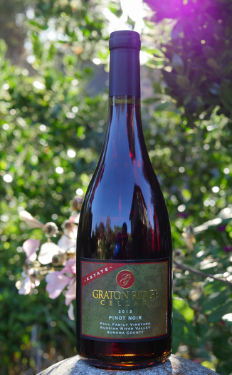 Graton Ridge Cellars 2013 Paul Family Vineyard Russian River Valley Pinot Noir 750ml Wine Bottle