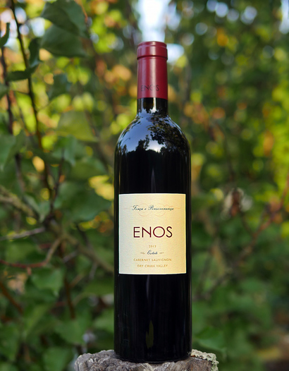 Enos Vineyards 2013 Estate Dry Creek Valley Cabernet Sauvignon 750ml Wine Bottle