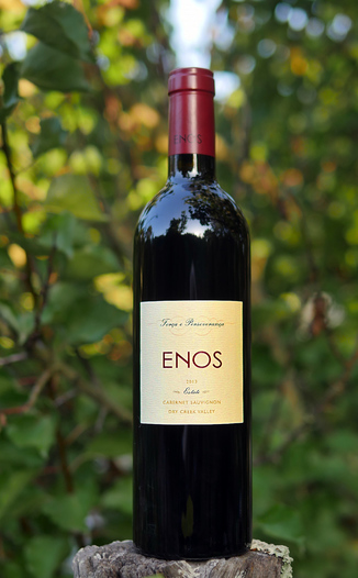 Enos Vineyards 2013 Estate Dry Creek Valley Cabernet Sauvignon 750ml Wine Bottle