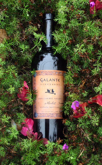 Galante Vineyards 2006 Carmel Valley Estate Merlot 750ml Wine Bottle