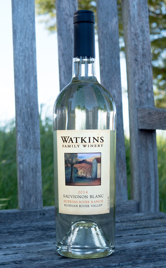 Watkins Family Winery 2014 Hopkins River Ranch Russian River Valley Sauvignon Blanc 750ml Wine Bottle