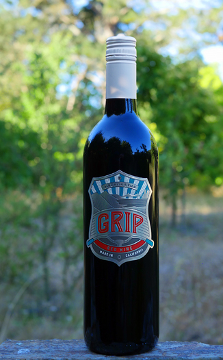 Grip Wines 2012 Red Wine 750ml Wine Bottle