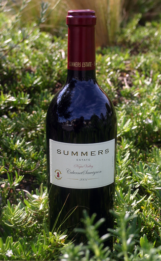 Summers Estate Wines 2004 Estate Cabernet Sauvignon 750ml Wine Bottle