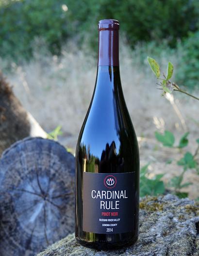 Cardinal Rule 2014 Russian River Valley Pinot Noir 750ml Wine Bottle