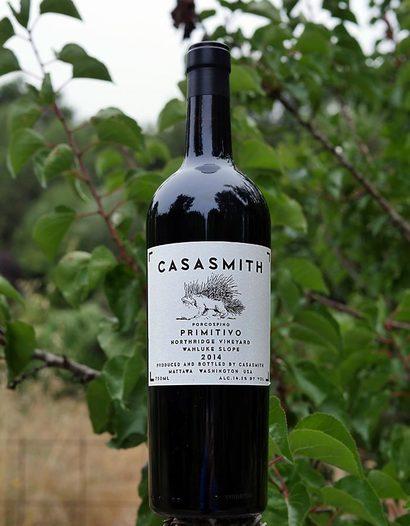 "Charles Smith Wines 2014 ""Casa Smith"" Northridge Vineyard Wahluke Slope Primitivo 750ml Wine Bottle"