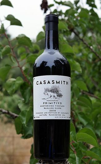 "Charles Smith Wines 2014 ""Casa Smith"" Porcospino Northridge Vineyard Wahluke Slope Primitivo 750ml Wine Bottle"