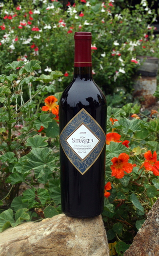 von Strasser Winery 2005 Cabernet Sauvignon 750ml Wine Bottle