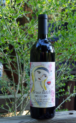 Bruce Patch Wines 2014 Harris Kratka Vineyard Alexander Valley Zinfandel 750ml Wine Bottle
