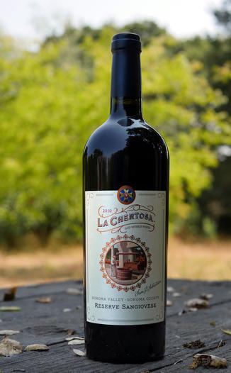 La Chertosa Wines 2010 Sonoma Valley Reserve Sangiovese 750ml Wine Bottle