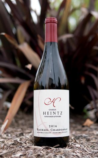"Charles Heintz Vineyards 2014 ""Rachael"" Sonoma Coast Chardonnay 750ml Wine Bottle"