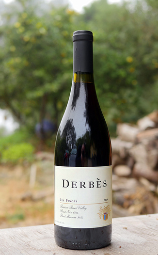 Derbes 2009 Russian River Valley Syrah 750ml Wine Bottle