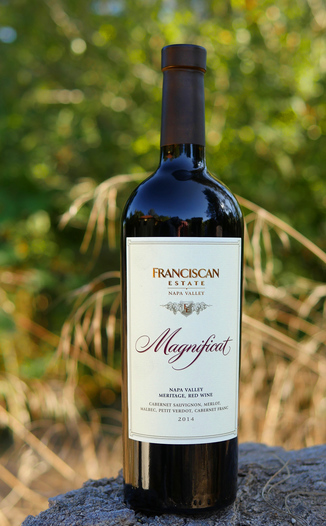 "Franciscan Estate 2014 ""Magnificat"" Red 750ml Wine Bottle"