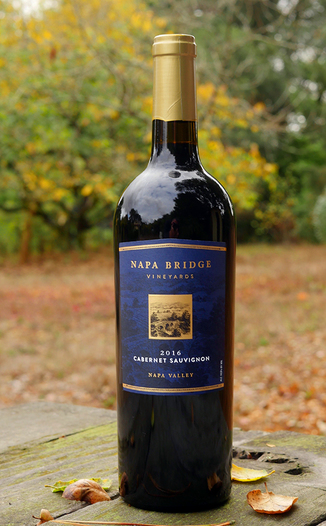 Grand Napa Wine 2016 Napa Bridge Vineyards Napa Valley Cabernet Sauvignon 750ml Wine Bottle
