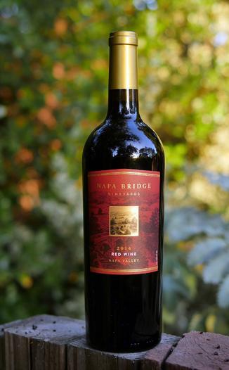 Grand Napa Wine 2014 Napa Bridge Vineyards Napa Valley Red Wine 750ml Wine Bottle