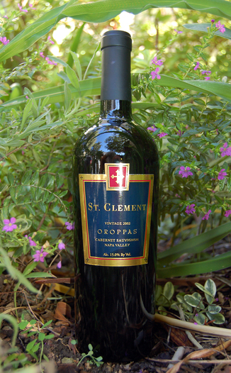 St. Clement Vineyards 2002 Oroppas Cabernet Sauvignon 750ml Wine Bottle
