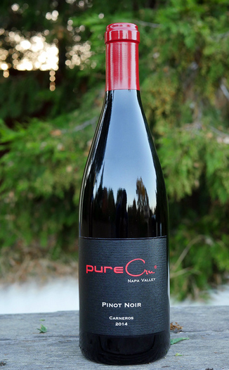 pureCru Wines 2014 Carneros Pinot Noir 750ml Wine Bottle