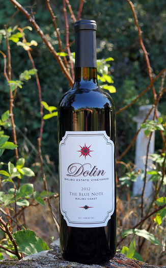 Dolin Malibu Estate Vineyards 2012 Malibu Coast The Blue Note Red Blend 750ml Wine Bottle