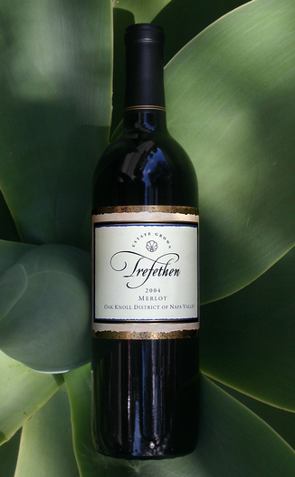 Trefethen Family Vineyards 2004 Merlot 750ml Wine Bottle
