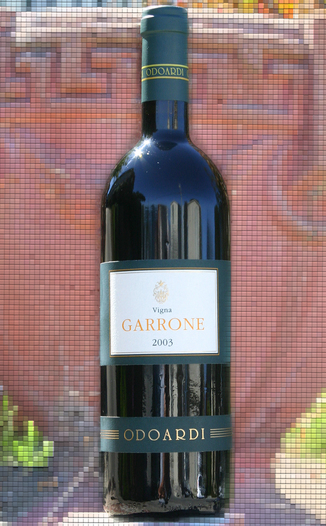 Odoardi 2003 Vigna Garrone 750ml Wine Bottle