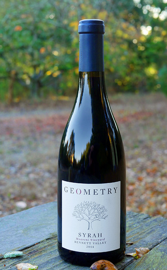 Geometry Wines 2014 Bennett Valley Moaveni Vineyard Syrah 750ml Wine Bottle