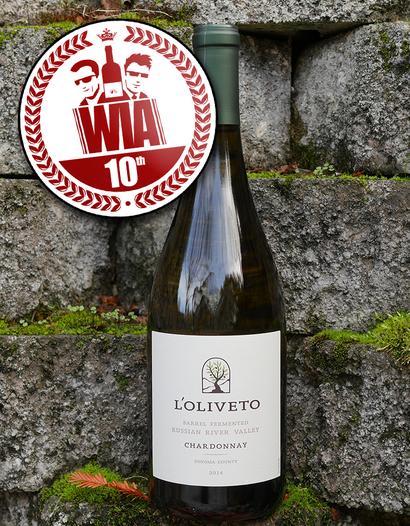 Brack Mountain 2014 L'Oliveto Barrel Fermented Russian River Valley Chardonnay 750ml Wine Bottle