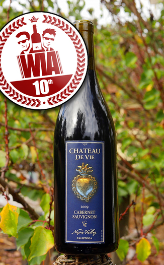 Chateau De Vie 2009 Napa Valley Cabernet Sauvignon 750ml Wine Bottle