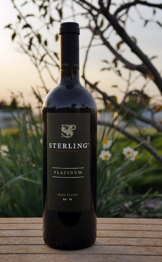 Sterling Vineyards 2013 Sterling Vineyards Platinum Napa Valley Cabernet Sauvignon 750ml Wine Bottle