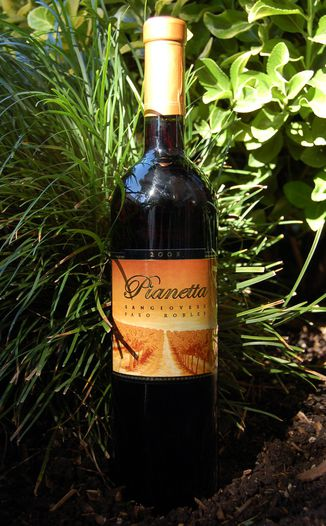 Pianetta Winery 2005 Sangiovese 750ml Wine Bottle