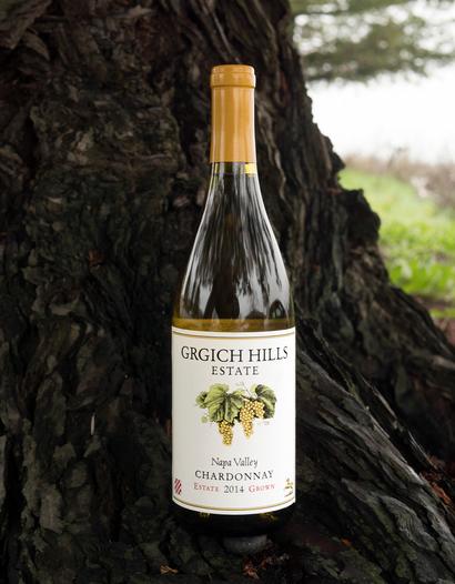 Grgich Hills Estate 2014 Napa Valley Estate Grown Chardonnay 750ml Wine Bottle