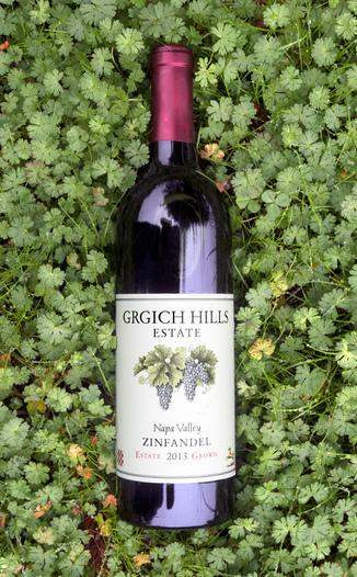 Grgich Hills Estate 2013 Napa Valley Estate Grown Zinfandel 750ml Wine Bottle