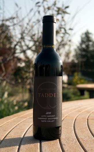 Taddei Wines 2010 Late Harvest Napa Valley Cabernet Sauvignon 750ml Wine Bottle