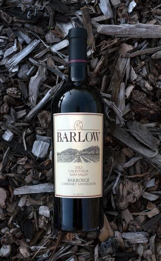 Barlow Vineyards 2013 Calistoga Napa Valley Barrouge Cabernet Sauvignon 750ml Wine Bottle