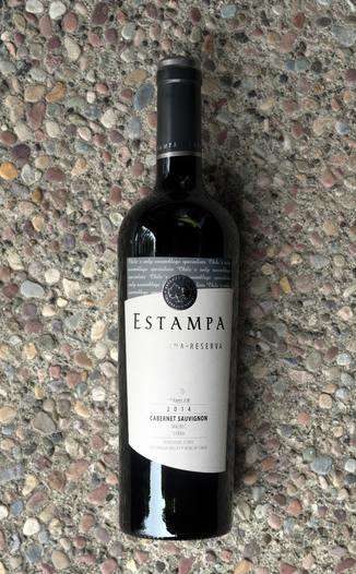Estampa 2014 Marchigüe Estate Colchagua Valley Cabernet Sauvignon 750ml Wine Bottle
