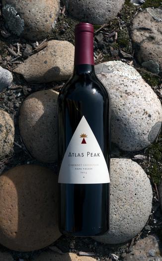 Atlas Peak Wines 2015 Napa Valley Cabernet Sauvignon 750ml Wine Bottle